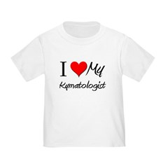 I Heart My Kymatologist Toddler T-Shirt