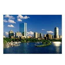 Boston Back Bay Area Postcards (Package of 8)