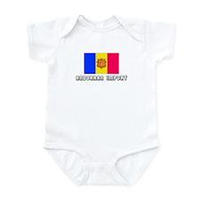 Andorran Import Infant Bodysuit