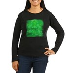 Courage Heraldic Crest Women's Long Sleeve Dark T-