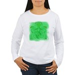 Courage Heraldic Crest Women's Long Sleeve T-Shirt