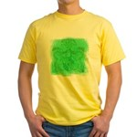 Courage Heraldic Crest Yellow T-Shirt