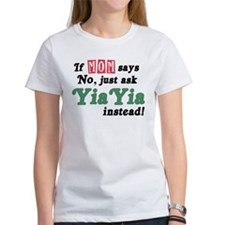 Just Ask YiaYia! Tee