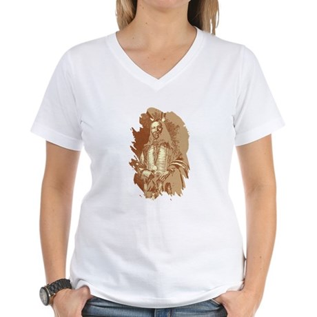 Indian Brave Women's V-Neck T-Shirt