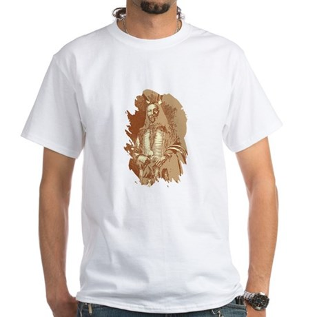 Indian Brave White T-Shirt