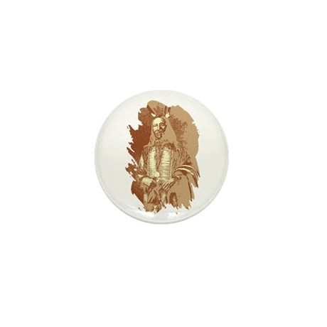 Indian Brave Mini Button (10 pack)
