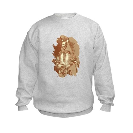 Indian Brave Kids Sweatshirt