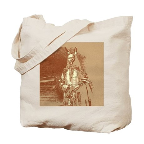 Indian Brave Tote Bag