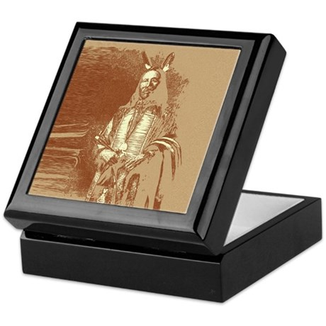 Indian Brave Keepsake Box