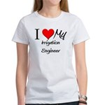 I Heart My Irrigation Engineer Women's T-Shirt