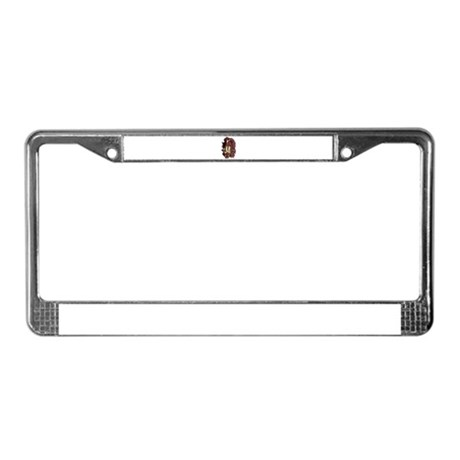 Indian Brave License Plate Frame