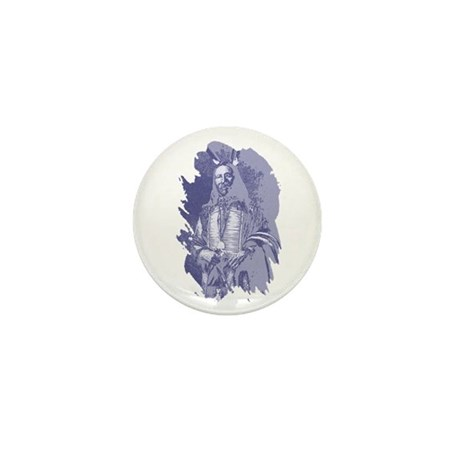 Indian Brave Mini Button (100 pack)