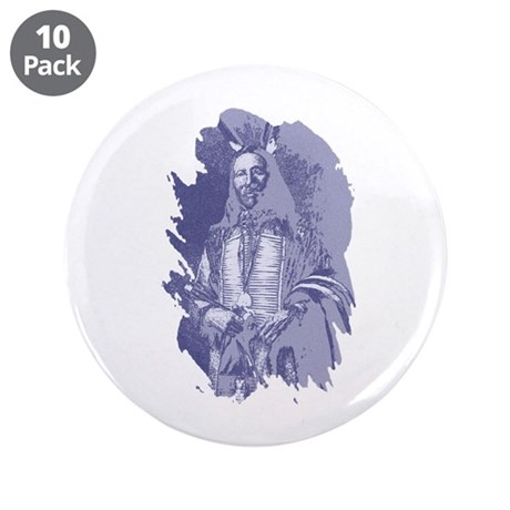 "Indian Brave 3.5"" Button (10 pack)"