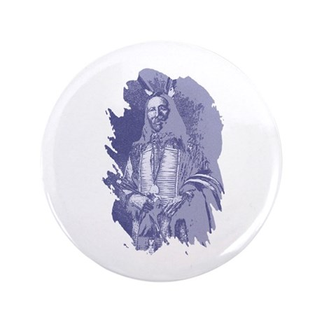 "Indian Brave 3.5"" Button"