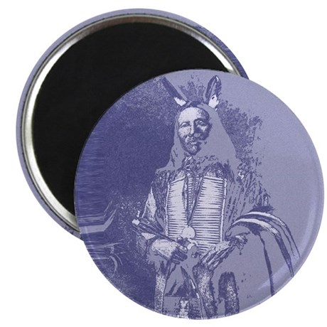 "Indian Brave 2.25"" Magnet (10 pack)"
