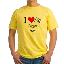I Love My Kyrgyz Mom T