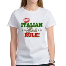 Italian Girls Rule Tee