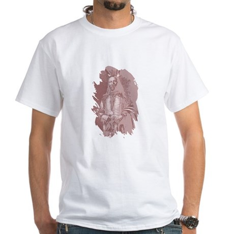 Native American Indian White T-Shirt