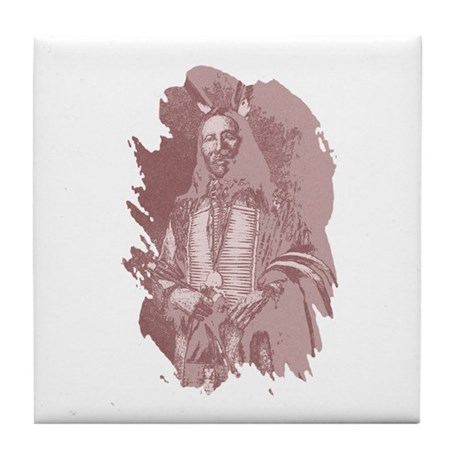 Native American Indian Tile Coaster