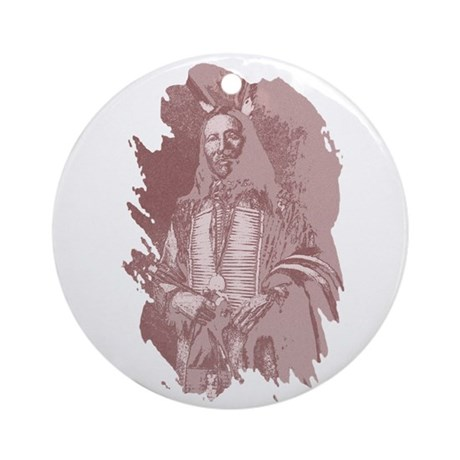 Native American Indian Ornament (Round)