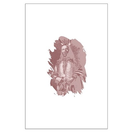 Native American Indian Large Poster