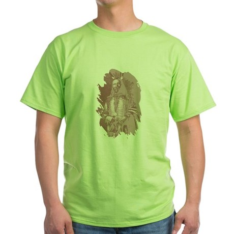 Native American Indian Green T-Shirt