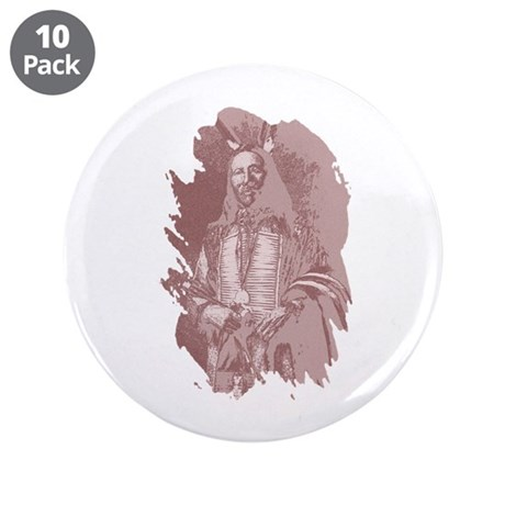 "Native American Indian 3.5"" Button (10 pack)"