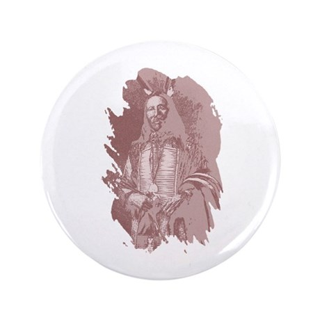 "Native American Indian 3.5"" Button (100 pack)"