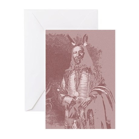 Native American Indian Greeting Cards (Pk of 20)