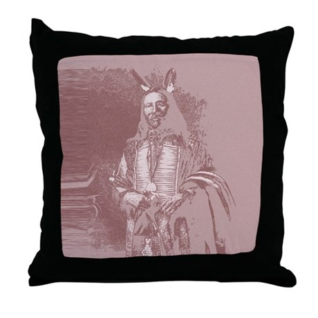 Native American Indian Throw Pillow