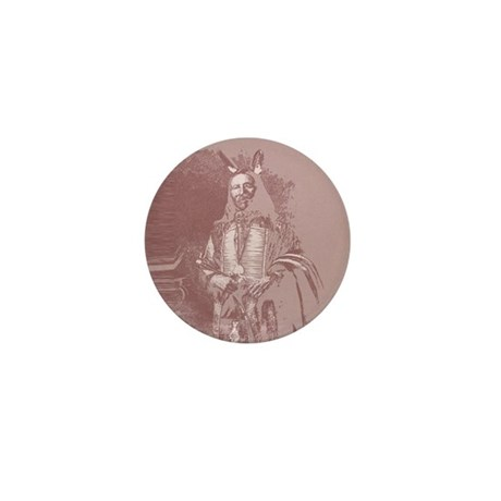 Native American Indian Mini Button (100 pack)