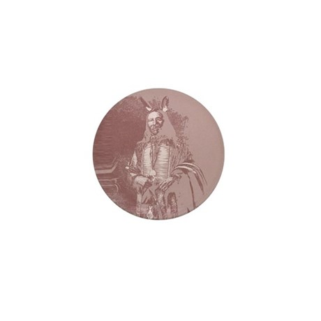 Native American Indian Mini Button