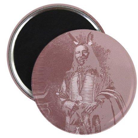 "Native American Indian 2.25"" Magnet (10 pack)"