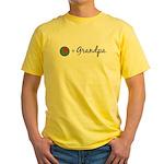 Olive Grandpa Yellow T-Shirt