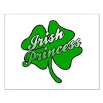 Shamrock Irish Princess Small Poster