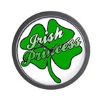Shamrock Irish Princess Wall Clock