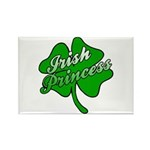 Shamrock Irish Princess Rectangle Magnet (10 pack)