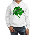 Shamrock Irish Princess Hooded Sweatshirt