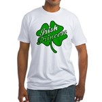 Shamrock Irish Princess Fitted T-Shirt