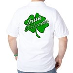 Shamrock Irish Princess Golf Shirt