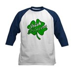 Shamrock Irish Princess Kids Baseball Jersey