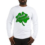 Shamrock Irish Princess Long Sleeve T-Shirt