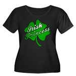 Shamrock Irish Princess Women's Plus Size Scoop Ne