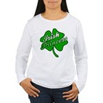 Shamrock Irish Princess Women's Long Sleeve T-Shir