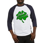Shamrock Irish Princess Baseball Jersey