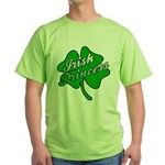 Shamrock Irish Princess Green T-Shirt