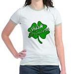 Shamrock Irish Princess Jr. Ringer T-Shirt