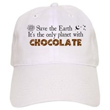 Chocolate Earth Baseball Cap