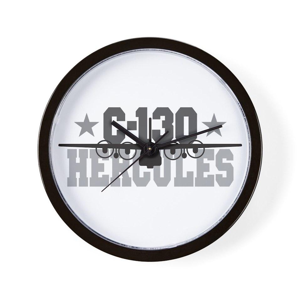 Air Force Gifts  Air Force Home Decor  C 130 Hercules Wall Clock