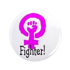 """Fighter Two 3.5"""" Button"""